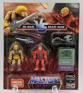 MEGA Construx Pro Builders Masters of the Universe HE-MAN vs BEAST MAN!