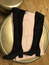 Stuart Weitzman Over The Knee Boots Genna 60 Size8 Black Suede
