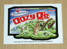 2020 Topps Wacky Packages April Fools Day artist bio Matthew Kirscht Oozy Q's