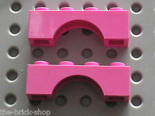 2 x Arche LEGO DkPink arch ref 3659 / 41068 7600 7582 5560 3184 7580 5475 4625..