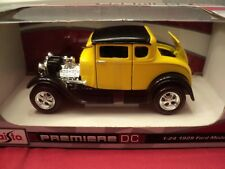 Maisto 1929 Ford Model A 1/24 scale ,new in box 2018 release yellow /black