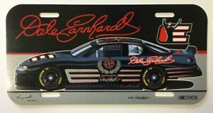 DALE EARNHARDT  Nascar RACING Plastic License Plate Collectible 2003