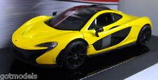 Motormax 1/24 Scale 79325 McLaren P1 Yellow Diecast model car