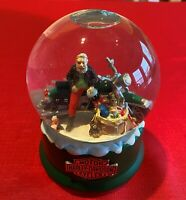 HARLEY DAVIDSON Riding the Highway Musical Snow Globe 2000 - NEW in Box