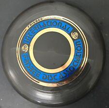 Vtg IFA International Frisbee Association Disc Black