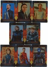 New listing 2019 Lost In Space Season 1 Character 8 Card Character Metal Parallel Set