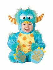 InCharacter LIL'  MONSTER COSTUME (18-24 M/2T) Halloween Dress Up Blue  NEW