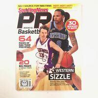 Steve Nash Signed Magazine PSA/DNA Phoenix Suns Autographed