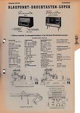 Service Manual-Anleitung für Blaupunkt Granada 2625, Florida 4620,4625 Stereo