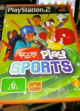 Eye Toy Play Sports (no booklet) PLAYSTATION 2 PS2 - FREE POST *