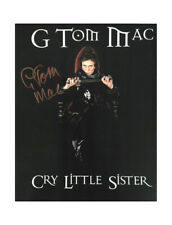 """8x10"""" Cry Little Sister Print Signed by G Tom Mac 100% Authentic + COA"""