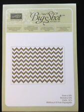Stampin' Up CHEVRON Textured Impressions Embossing Folder