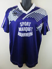 Vtg Adidas 90s Football Shirt Retro Soccer Jersey Top Trikot Mens Large L 42/44