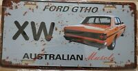 FORD XW GT HO Metal Signs Australian Muscle Cars MAN CAVE SHED BAR