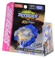 Takara Tomy Beyblade Burst B-166 Superking Bey Launcher Blue Left Spin US Seller