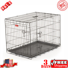 Lucky Dog™ Wire Travel & Training 2 Door Pet Crate Extra Large (76+ lbs) Metal