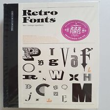 A8 Retro Fonts 360+ Vintage Typefaces 222 Fonts Incl CD - Gregor Stawinski