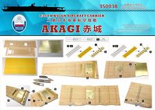 Shipyard 1/350 350038 Wood Deck IJN Akagi for Hasegawa