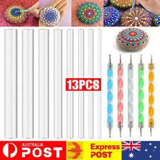 13pcs Mandala Dotting Tool For Painting Rock Dot Kit Rock Stone Painting Pen AU