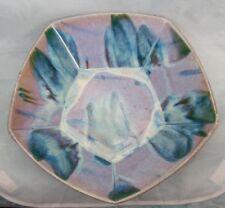 Blue Decorative 1980-Now Date Range Art Pottery