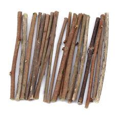 20 Pcs 10cm Wood Stick Branch For DIY Art Craft Wedding Decoration Supplies QL