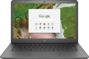 HP Touch-Screen  Chromebook 14-ca061dx 14 in. 32GB Intel  N3350 , 4GB Laptop