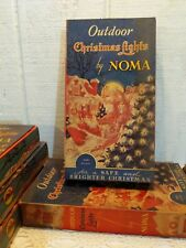 NOS Vintage NOMA Outdoor Christmas Lights C9 Mazda Bulbs #No 3005 TESTED