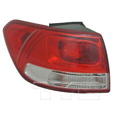 Fits 16-18 Kia Sorento Halogen Quarter Driver Left Side Tail Light Lamp NSF