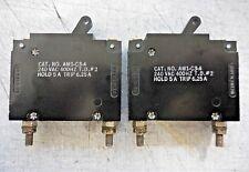 Heinemann AM1-C3-A/ 240 VAC/ 400 Hz/ T.D. #2/ Hold 5A/ Trip 6.25A/ Switch Relay