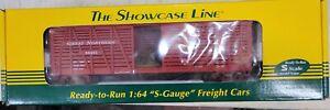S-Helper/The Showcase Line #01138, Great northern, Xmas, NIB S-Gauge, AF (11Q)