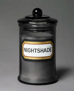 John Derian Threshold Glass Jar Candle - Nightshade Fall Halloween Limited