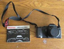 Pentax A3000 SLR Film Camera with Smc Pentax-A 1:2 50mm Lens