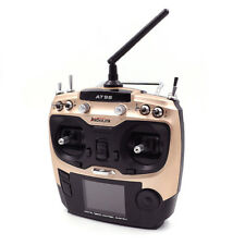 RADIOLINK - 10CH Digial Transmitter AT9S 2.4GHz M2 + R6DS receiver - GALAXY RC