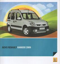 Renault Kangoo car (made in Argentina) _2008 Prospekt / Brochure