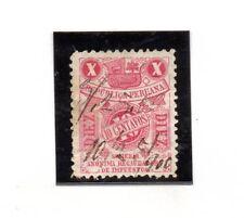 Peru Valor Fiscal del año 1906 (AB-646)