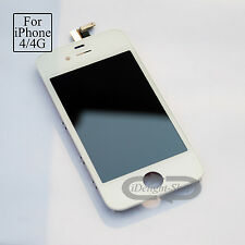 Full LCD For iPhone 4 replacement screen Touch Digitizer Assembly White A1332
