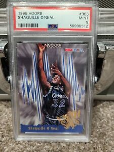 1995 HOOPS #366 SHAQUILLE O' NEAL PSA 9