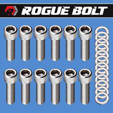 Amc Jeep V8 Intake Manifold Bolts Stainless Steel Kit 290 304 343 360 390 401