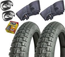 2x Reifen + 2x Schlauch 2,75x16 16-2,75 Talkum für Simson S51 ENDURO S50 S53 S83