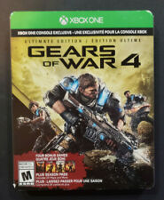 Gears of War 4: Ultimate Edition SteelBook Edition Xbox One XB1 *NO DLC*