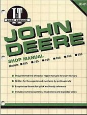 Compatible With John Deere I&T Shop Service Manual 655,755,756,855