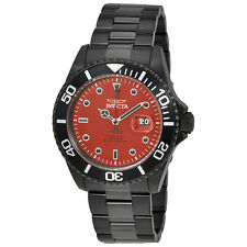 Invicta Pro Diver Red Dial Mens Watch 23007