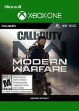 XBOX ONE CALL OF DUTY MODERN WARFARE ( NO - CD ) MULTILENGUAGE