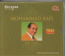 Karaoke Sing Along - Mohammad rafi Vol 3 [Cd]