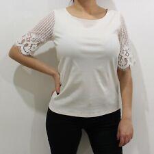 Women's Ann Taylor Loft Blouse Lace Sleeve | Size XS | NWT