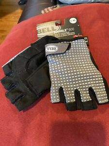 Bell Ramble 600 Reflective Cycling Gloves L-XL Half finger New
