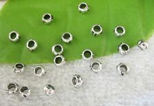 500pcs Tibetan silver barrel spacer beads FC10429