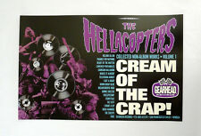 Hellacopters Cream of the Crap Promo Poster Swedish Garage Punk Gearhead Records