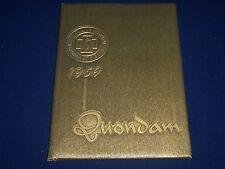 1959 QUONDAM WHITE PLAINS HOSPITAL SCHOOL OF NURSING YEARBOOK - PHOTOS - YB 419