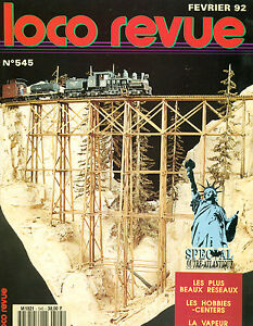 Loco Review 546 Of 1992. Build Un Picasso of The Dir. L'Equipment N